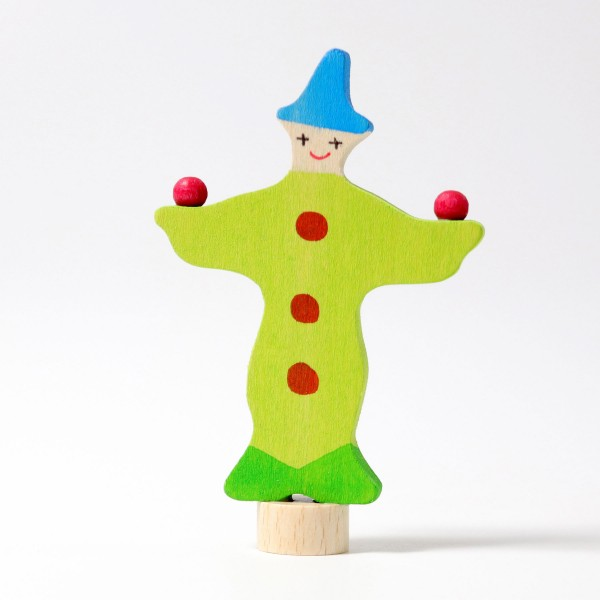 Steckfigur Jonglier-Clown-1