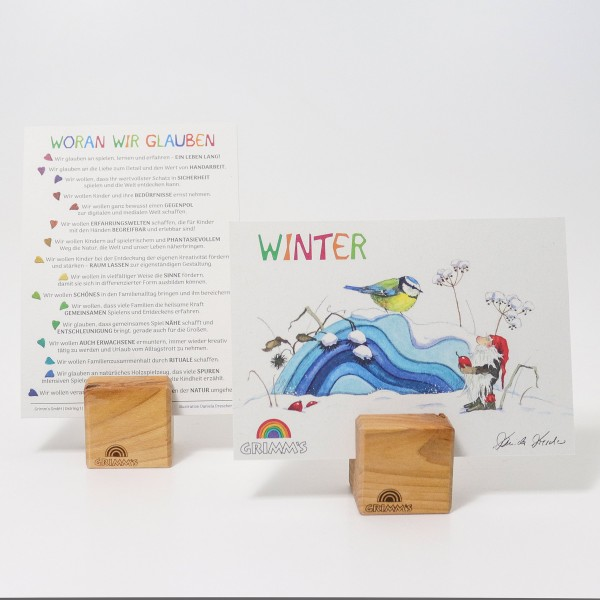 "Postkartenset ""Winter"" by Daniela Drescher, VE: 25 Stk-1"